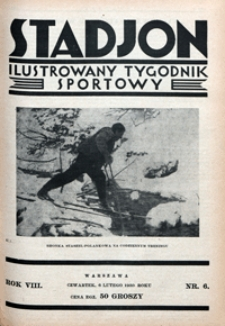 Stadjon, 1930, nr 6