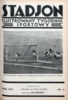Stadjon, 1930, nr 8