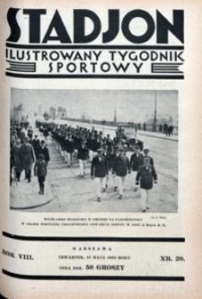 Stadjon, 1930, nr 20