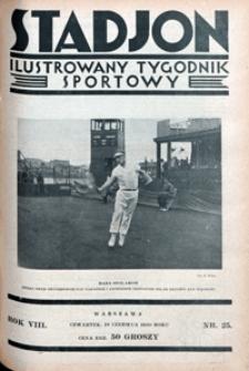 Stadjon, 1930, nr 25