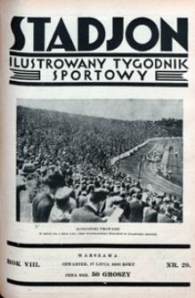 Stadjon, 1930, nr 29