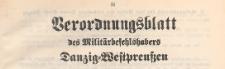 Verordnungsblatt des Militärbefehlshabers Danzig-Westpreussen, 1939.10.25 nr 14