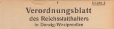 Verordnungsblatt des Reichsstatthalters in Danzig-Westpreussen, 1941.05.12 nr 33