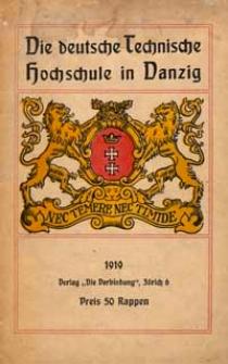 Die deutsche Technische Hochschule in Danzig