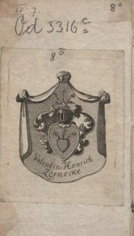 Geschichte der siebenjährigen Leiden Danzigs von 1807 bis 1814. T. 1