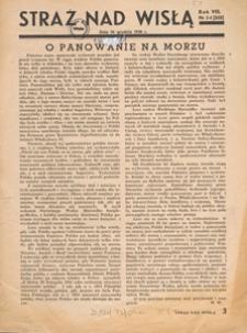 Straż nad Wisłą : dawniej Młody Gryf : pomorskie czasopismo ilustrowane, 1938 nr 34