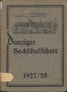 Danziger Hochschulführer 1927/1928