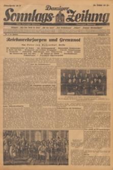 Danziger Sonntags Zeitung, 1931.10.11 nr 41