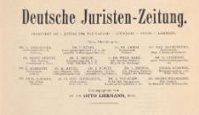 Deutsche Juristen-Zeitung, 1927.06.01 H 11