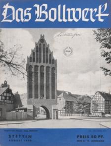 Das Bollwerk : die NS Monatszeitschrift Pommerns, 1940 H 8
