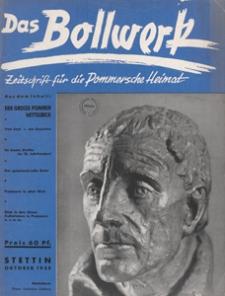 Das Bollwerk : die NS Monatszeitschrift Pommerns, 1938 H 10