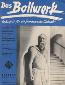 Das Bollwerk : die NS Monatszeitschrift Pommerns, 1937 H 3