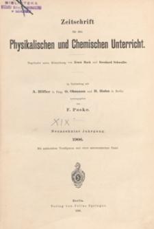 Zeitschrift für den Physikalischen und Chemischen Unterricht, 1906 H 3