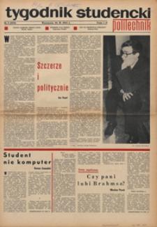 """Tygodnik studencki """"Politechnik"""", 1968, nr 8 (392)"""