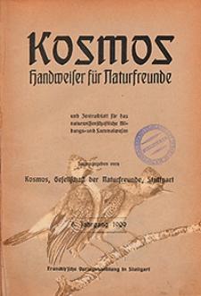 Kosmos : Handweiser für Naturfreunde und Zentralblatt für das Naturwissenschaftliche Bildungs-und Sammelwesen 1909, Jg. 6., H. 1/12