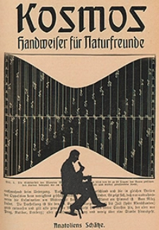 Kosmos : Handweiser für Naturfreunde und Zentralblatt für das Naturwissenschaftliche Bildungs-und Sammelwesen 1916, Jg. 13, Nr. 1/12