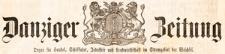 Danziger Zeitung: Organ für Handel..., 1867.06.30 nr 4307