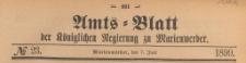 Amts-Blatt der Königlich Preussischen Regierung zu Marienwerder für das Jahr, 1899.06.07 nr 23