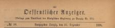 Oeffentlicher Anzeiger : Beilage zum Amts-blatt der Königlichen Regierung zu Danzig, 1898.12.10 nr 50