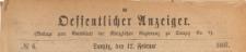 Oeffentlicher Anzeiger : Beilage zum Amts-blatt der Königlichen Regierung zu Danzig, 1887.02.12 nr 6