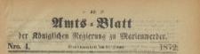 Amts-Blatt der Königlichen Regierung zu Marienwerder für das Jahr, 1872.01.24 nr 4