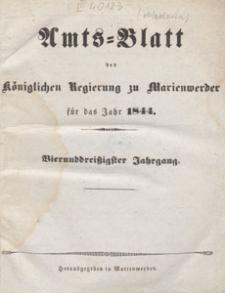 Amts-Blatt der Königlichen Regierung zu Marienwerder für das Jahr, 1844.02.07 nr 6