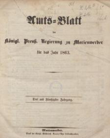 Amts-Blatt der Königlichen Regierung zu Marienwerder für das Jahr, 1863.10.21 nr 42