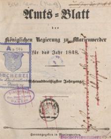 Amts-Blatt der Königlichen Regierung zu Marienwerder für das Jahr, 1848.05.17 nr 20