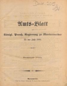 Amts-Blatt der Königlichen Regierung zu Marienwerder für das Jahr, 1894.01.17 nr 3
