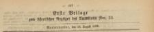 Erste Beilage zum öffentlichen Anzeiger des Amtsblatt, 1869.08.18 nr 33