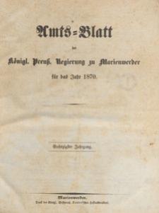 Amts-Blatt der Königlichen Regierung zu Marienwerder für das Jahr, 1870.12.28 nr 52