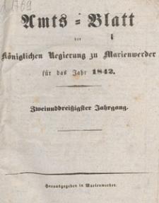Amts-Blatt der Königlichen Regierung zu Marienwerder für das Jahr, 1842.09.23 nr 38