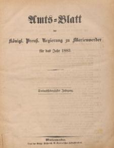 Amts-Blatt der Königlichen Regierung zu Marienwerder für das Jahr, 1883.12.12 nr 50