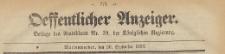 Oeffentlicher Anzeiger : Beilage des Amtsblatt der Königlichen Regierung, 1883.09.26 nr 39