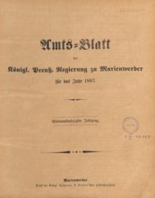 Amts-Blatt der Königlichen Regierung zu Marienwerder für das Jahr, 1897.09.29 nr 39