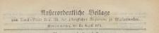 Ausserordentliche Beilage zum Amts=Blatt der Königlichen Regierung zu Mariemwerder, 1871.08.23 nr 34