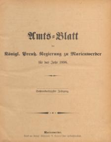Amts-Blatt der Königlichen Regierung zu Marienwerder für das Jahr, 1896.10.21 nr 43