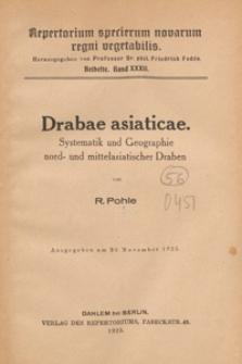 Repertorium Specierum Novarum Regni Vegetabilis : Beihefte, 1925 Bd 32