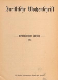 Juristische Wochenschrift : Organ des Deutschen Anwaltvereins, 1935.05.18 H. 20