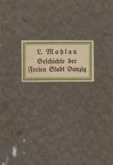 Geschichte der Freien Stadt Danzig
