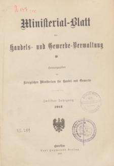 Ministerialblatt der Handels- und Gewerbe-Verwaltung. Herausgegeben Königliches Ministerium für Handel und Gewerbe, 1912.02.08 nr 3