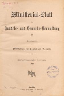 Ministerialblatt der Handels- und Gewerbe-Verwaltung. Herausgegeben Königliches Ministerium für Handel und Gewerbe, 1925.12.21 nr 21