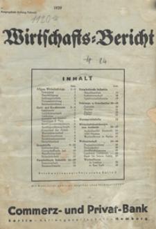 Wirtschafts-Bericht der Kommerz- und Privat-Bank Aktiengesellschaft Berlin-Hamburg, 1939.02, nr 2