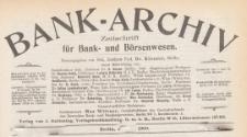 Bank-Archiv. Zeitschrift für Bank- und Börsenwesen, 1908.10.15 nr 2
