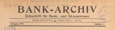 Bank-Archiv. Zeitschrift für Bank- und Börsenwesen, 1943.01.01 nr 1