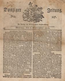Danziger Zeitung, 1808.09.05 nr 107