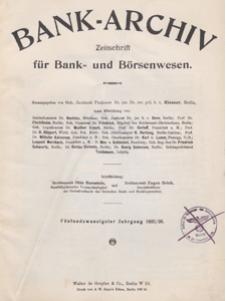 Bank-Archiv. Zeitschrift für Bank- und Börsenwesen, 1925.11.15 nr 4