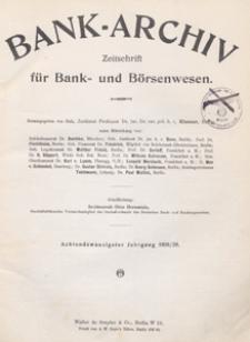 Bank-Archiv. Zeitschrift für Bank- und Börsenwesen, 1929.02.15 nr 10