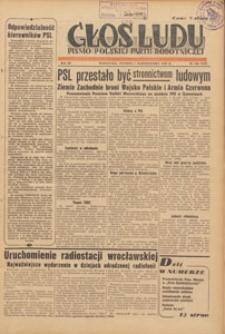 Głos Ludu : pismo codzienne Polskiej Partii Robotniczej, 1946.10.06 nr 274