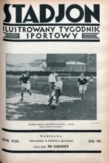 Stadjon, 1930, nr 33